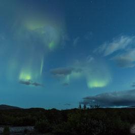 Virmalised pilvedega